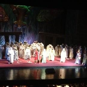 26 maggio, Il Nabucco all'Opera di Bucarest. Grande successo per il bicentenario verdiano26 mai, Nabucco la Opera din Bucureşti, Mare succes cu prilejul bicentenarului verdian